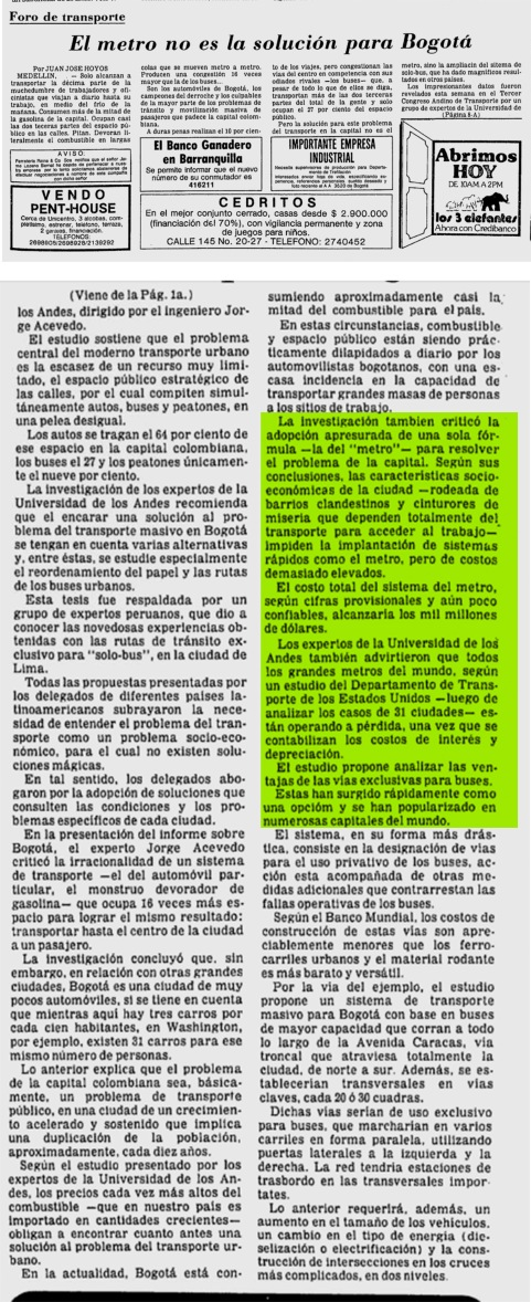 AVECEDO 1980